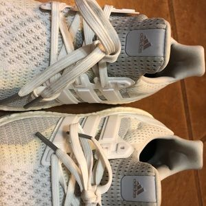 adidas Shoes - Women's Size 7.5 Ultraboost (White/Gray)